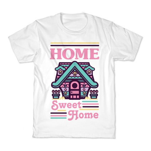 Home Sweet Home Mermaid Series Exterior Kids T-Shirt