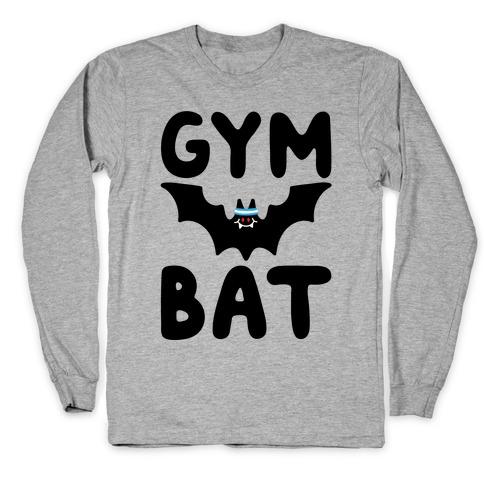Gym Bat Long Sleeve T-Shirt