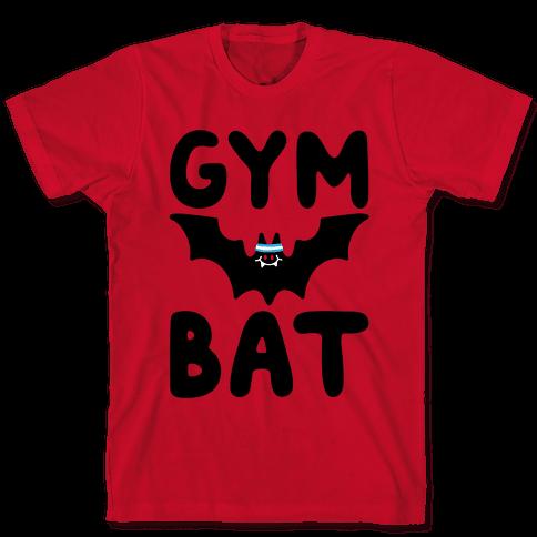 Gym Bat Mens/Unisex T-Shirt