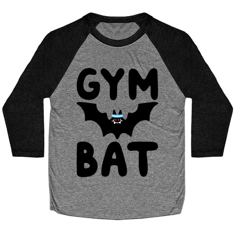 Gym Bat Baseball Tee