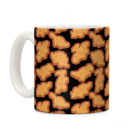 Dino Nuggies Pattern Coffee Mug
