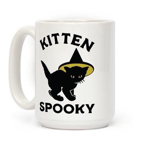 Kitten Spooky Coffee Mug
