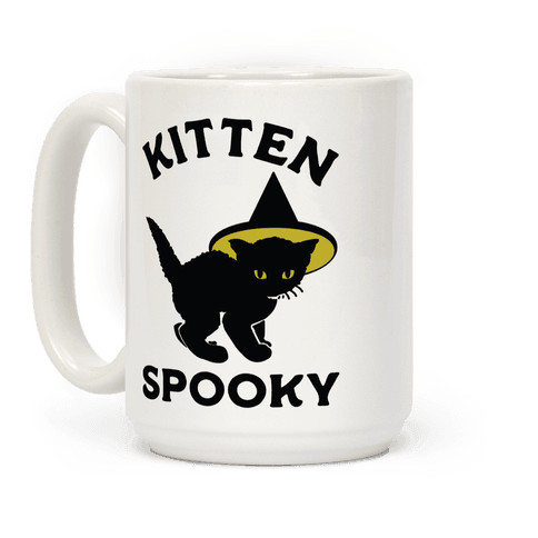 Kitten Spooky Coffee Mug