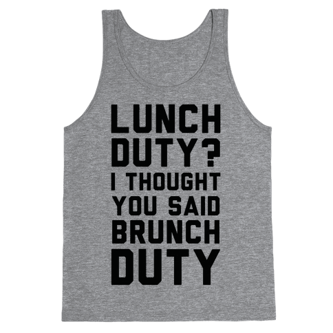 Brunch Duty Tank Top