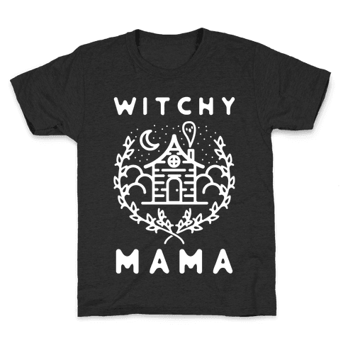 Witchy Mama Kids T-Shirt
