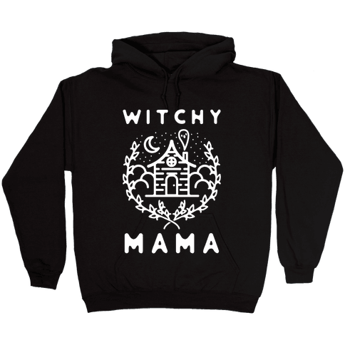 Witchy Mama Hooded Sweatshirt