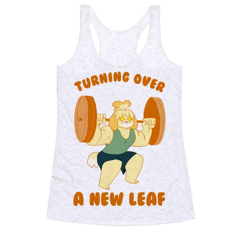 Isabelle Squats Racerback Tank Top