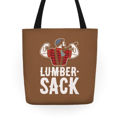 Lumber Sack Lumberjack Tote Bag Tote