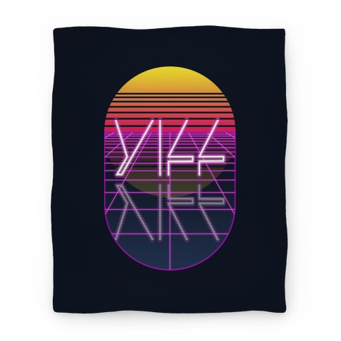 Synthwave Yiff Blanket