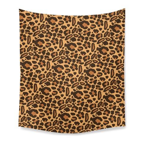 Leopard Print Pattern Tapestry