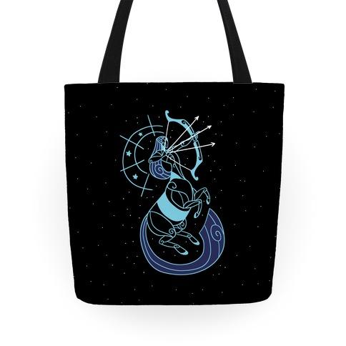 Stylized Sagittarius Tote
