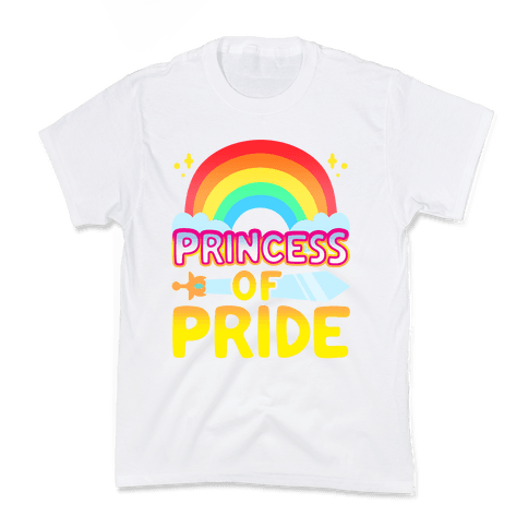 Princess of Pride Parody Kids T-Shirt