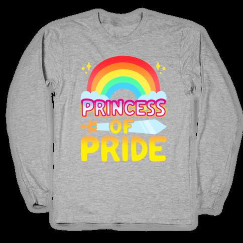 Princess of Pride Parody Long Sleeve T-Shirt