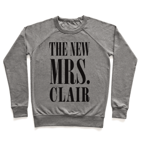 The New Mrs. Clair Pullover