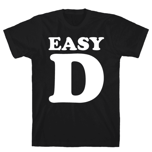 Easy D Mens T-Shirt