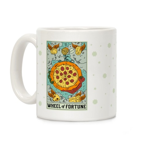 Wheel Of Fortune Pizza Coffee Mug