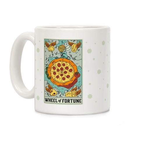 Wheel Of Fortune Pizza Coffee Mug