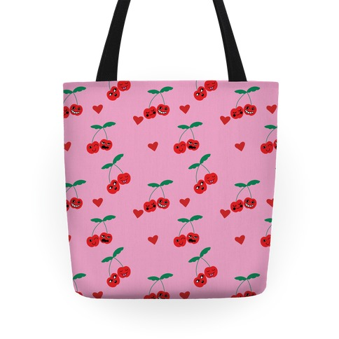 Cherry Love Pattern Tote