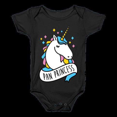 Pan Princess Unicorn Baby Onesy