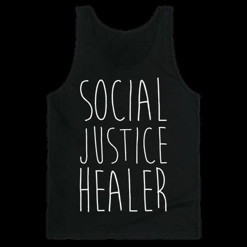 Social Justice Healer Tank Top