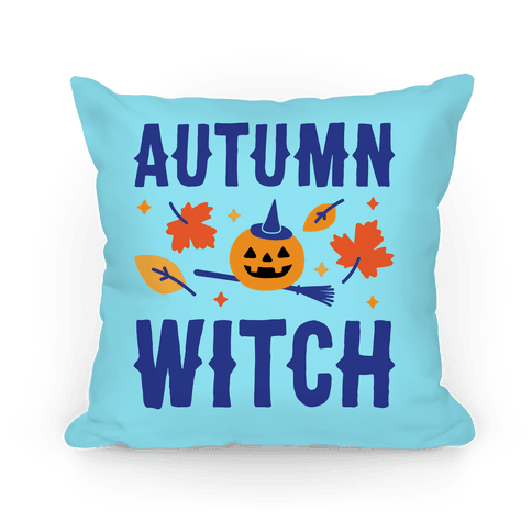 Autumn Witch Pillow