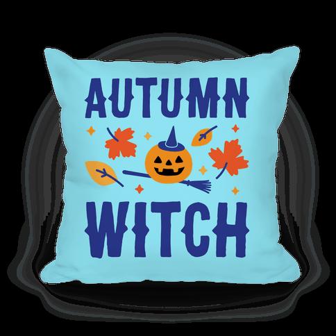 Autumn Witch Pillow