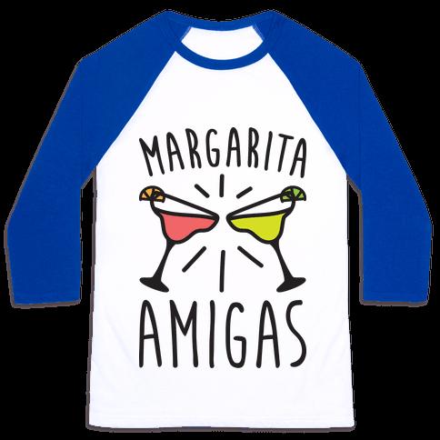 Margarita Amigas Baseball Tee