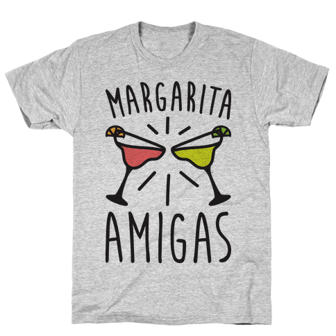 Margarita Amigas Mens T-Shirt