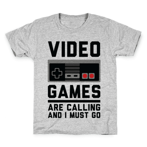 Video Games Are Calling Kids T-Shirt