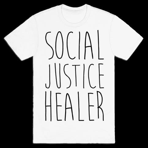 Social Justice Healer Mens T-Shirt