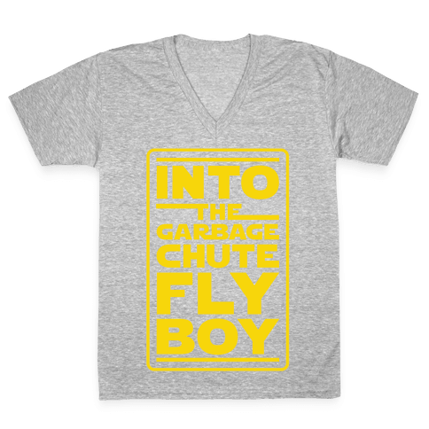 Into The Garbage Chute Fly Boy V-Neck Tee Shirt