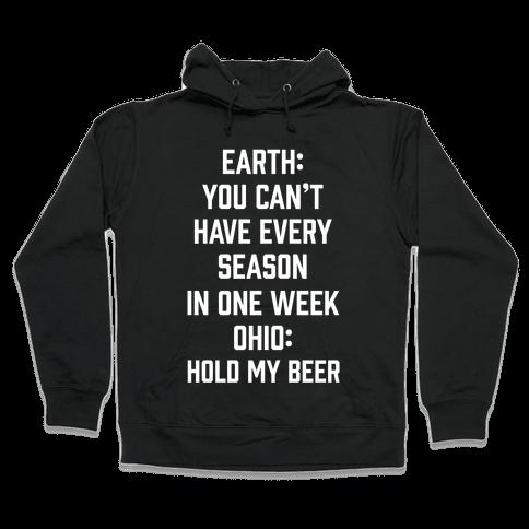 Every Season In One Week Ohio Hooded Sweatshirt