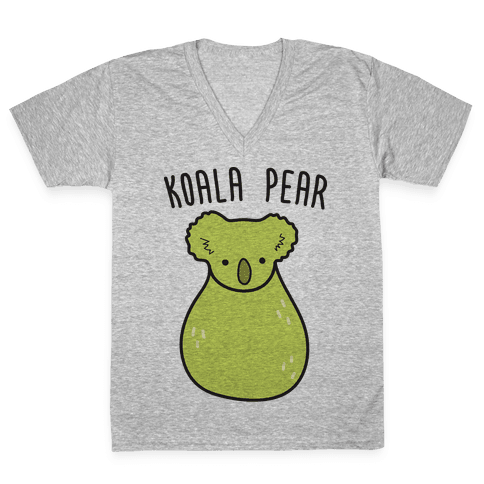 Koala Pear V-Neck Tee Shirt