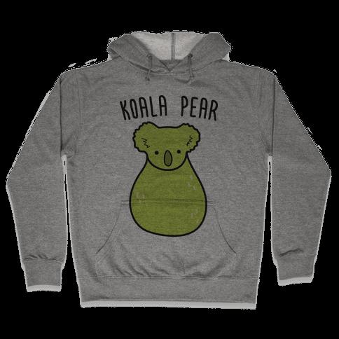 Koala Pear Hooded Sweatshirt