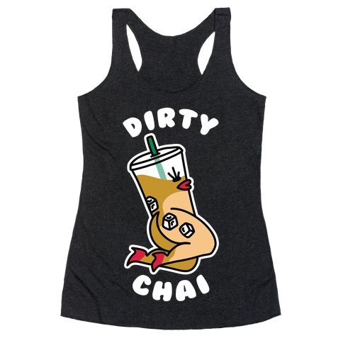 Dirty Chai Racerback Tank Top