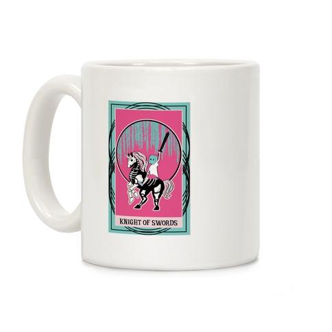 Creepy Cute Tarots: Knight of Swords Coffee Mug