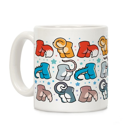 Assorted Furry Butts Coffee Mug