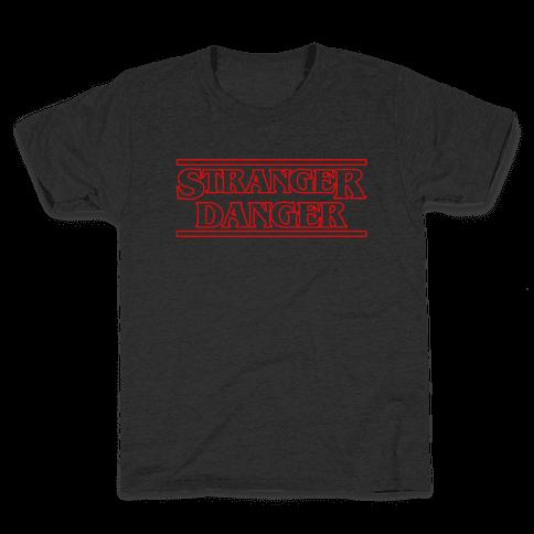 Stranger Danger Kids T-Shirt
