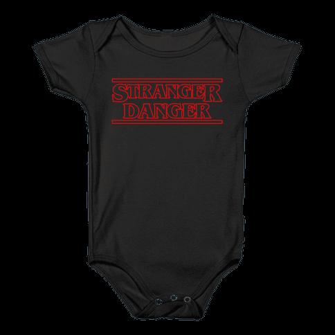 Stranger Danger Baby Onesy