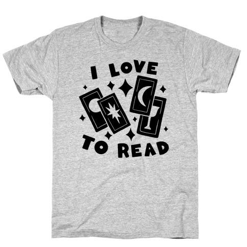 I Love To Read Tarot T-Shirt