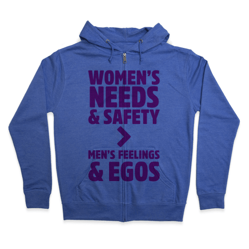 Women's Needs and Safety Zip Hoodie