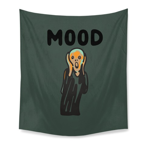 Mood The Scream Parody Tapestry