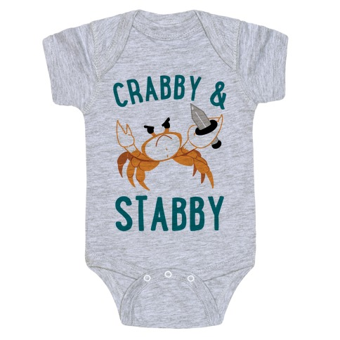 Crabby & Stabby Baby Onesy