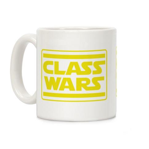 Class Wars Star Parody Coffee Mug
