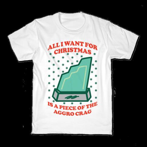 Aggro Crag Christmas Kids T-Shirt