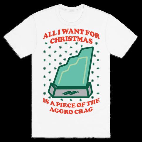 Aggro Crag Christmas Mens T-Shirt