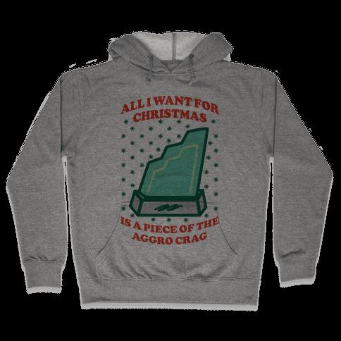 Aggro Crag Christmas Hooded Sweatshirt