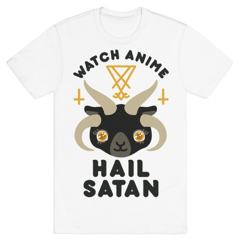 Watch Anime Hail Satan T-Shirt