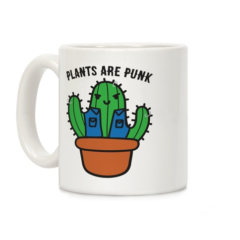 Plants Are Punk Coffee Mug