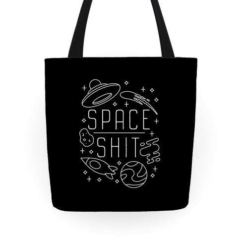 Space Shit Tote